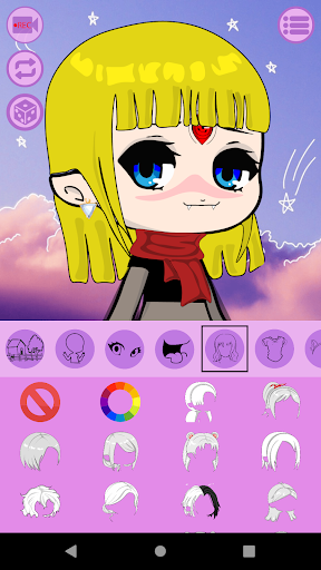 Avatar Maker: Anime Chibi screenshots 2