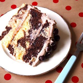 Mocha Marble Cake