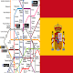 Spain Madrid Metro Tourist Offline Map for PC-Windows 7,8,10 and Mac