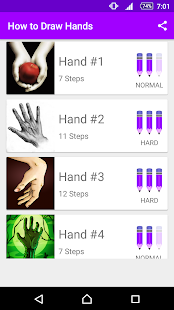 Learn How to Draw Hands - náhled