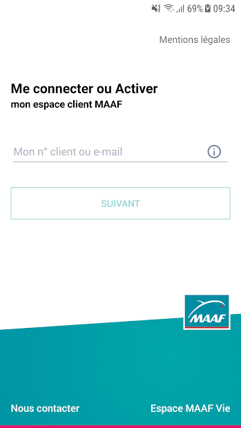 MAAF et Moi Android App Screenshot