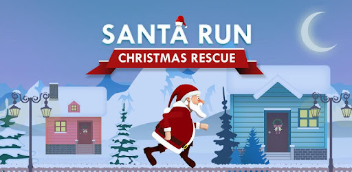 Help Santa escape polar bears, snow and aliens and get presents for kids.