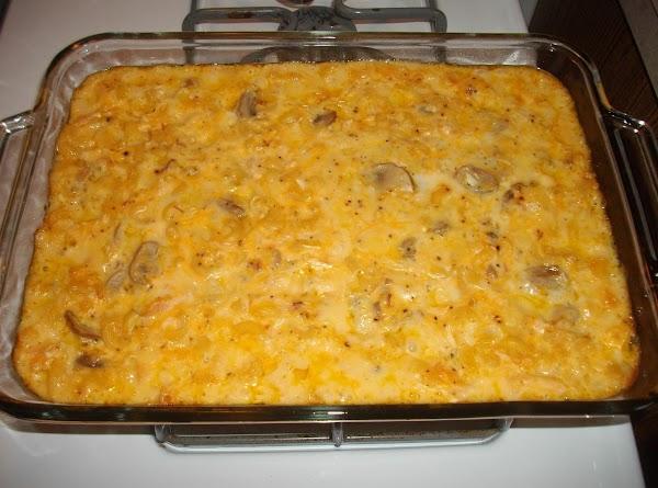 Cheesy Chicken Mac Casserole Recipe
