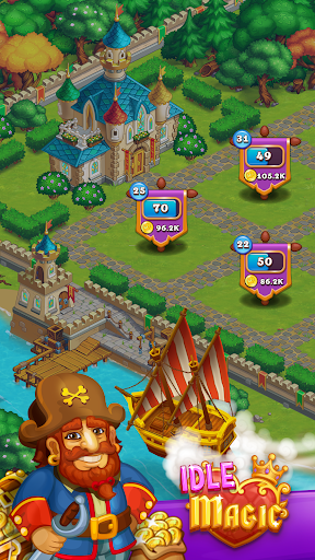 Idle Magic:Builder,Miner,Farmer at Click Away City 1.17 screenshots 7