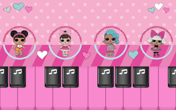 LOL Surprise Dolls : Piano Tiles Magic Music Games