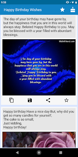 Happy Birthday Wishes - Status, Greetings & Images  screenshots 1
