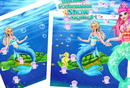 Mermaid Show Angela Girl- screenshot thumbnail