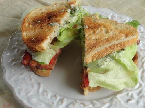 "BLT with Avocado and Spicy Sauce ""This is a good, healthy, filling..."