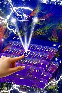 Téma kouře pro klávesnici - náhled