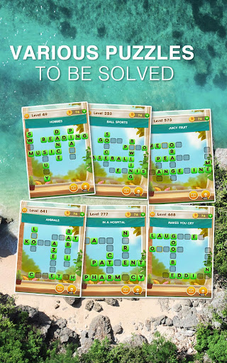 Word Free Time - Crossword Puzzle  screenshots 21