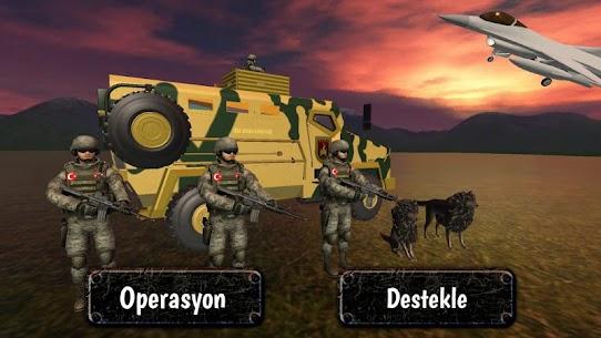 Türk Askeri Operasyonu – 2020 Asker Oyunu 1