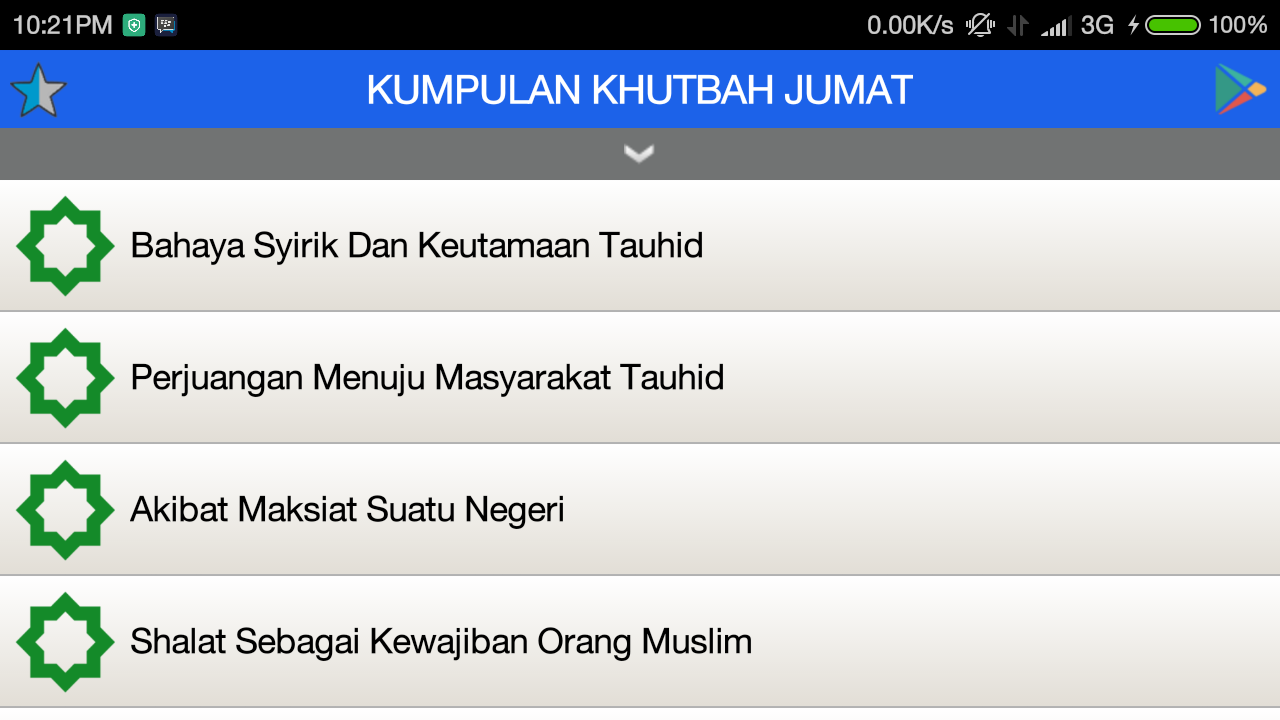 Khutbah Jumat Pilihan Android Apps Sa Google Play # Muwebles Kahulugan