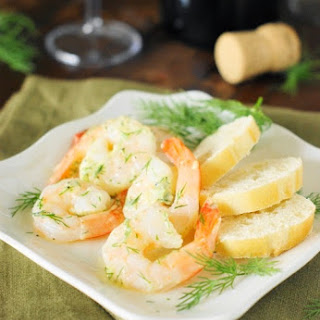 Garlic & Dill Marinated Shrimp