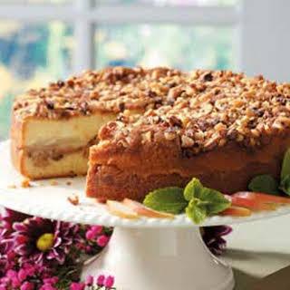 Walnut Pear Coffee Cake.