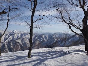 山頂手前で撮影タイム