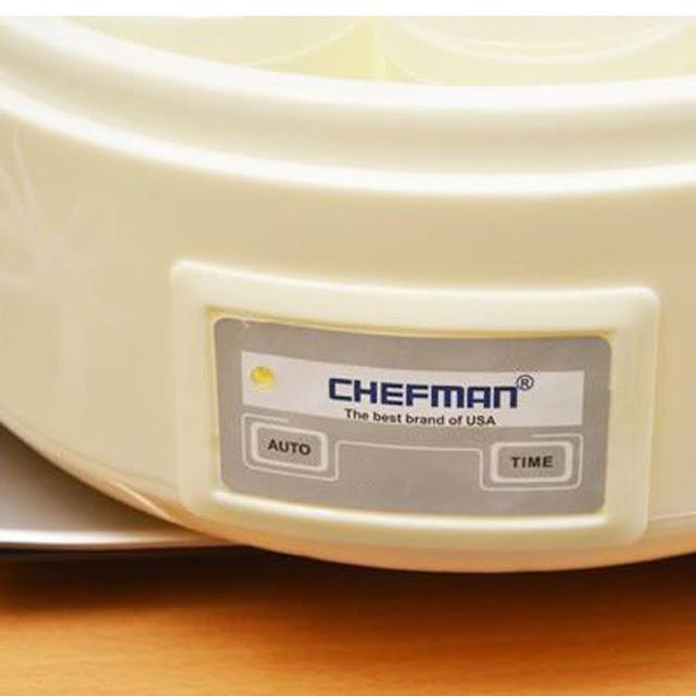 Máy làm sữa chua 8 cốc thủy tinh Chefman
