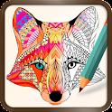 Foxy Coloring Book Art Studio icon