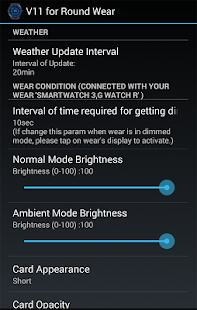 V11 WatchFace for Android Wear- screenshot thumbnail