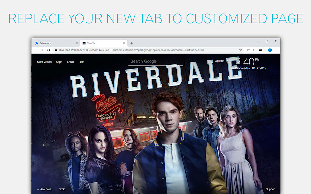 Riverdale Backgrounds New Tab - freeaddon.com