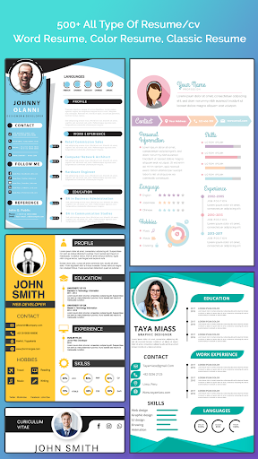 Download Resume Builder Free Cv Maker With Pdf Word Format On Pc