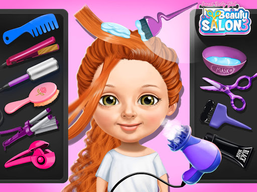 Sweet Baby Girl Beauty Salon 3 - Hair, Nails & Spa screenshot 21