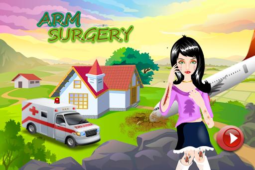 腕の手術ゲーム無料