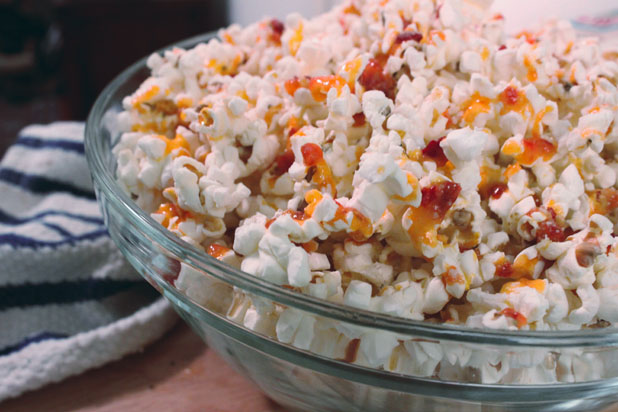 Photo: Popcorn with Sriracha Butter and Parmesan: http://bit.ly/SMt6Pv