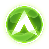 Arc Launcher Успокаивающая белая и зеленая тема