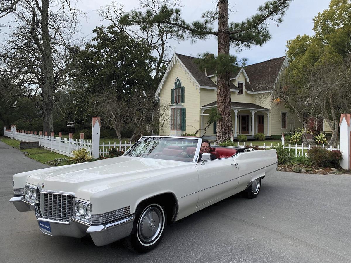 Cadillac Deville Convertible Hire Sonoma