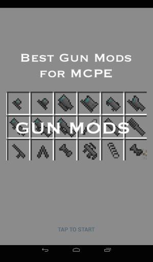 Gun Mods for MCPE