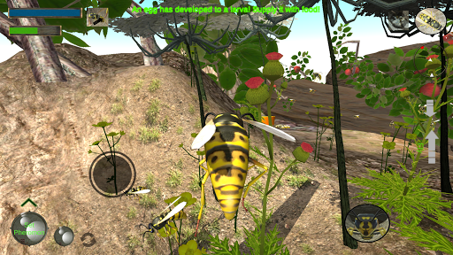 Wasp Nest Simulator - Insect and 3d animal game  screenshots 2