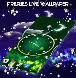 Fireflies Live Wallpaper Screenshot Thumbnail