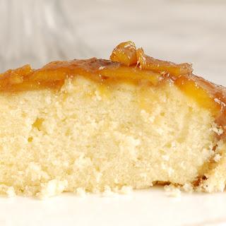 Mango Upside Down Cake.