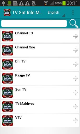 TV Sat Info Maldives