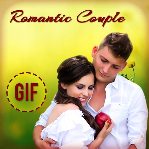 Romantic couple gif – Apps i Google Play