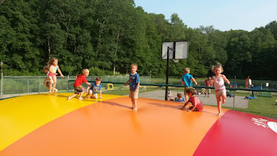 Photo: Little ones on Jumping Pillow