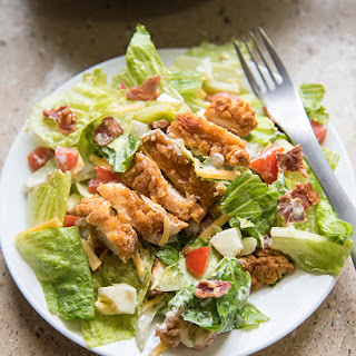 Crispy Chicken Cobb Salad Recipe