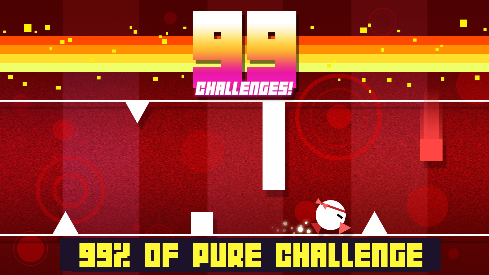 99 Challenges! - The Coolest Runner Ever!- screenshot