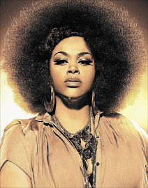 Sassy and naughty: Jill Scott