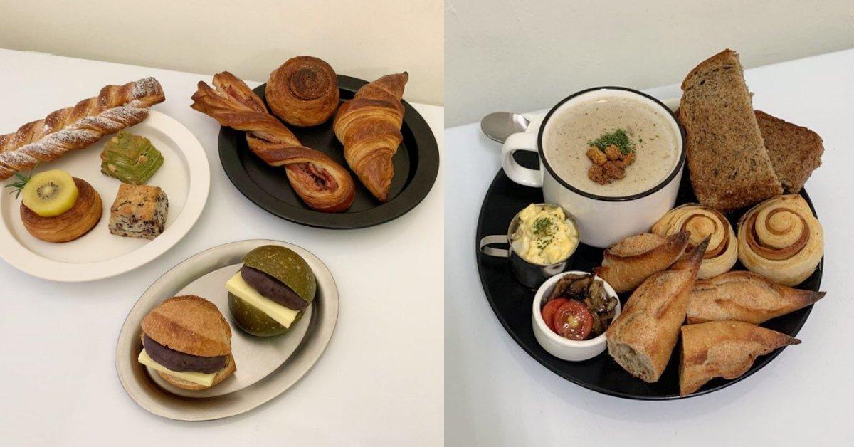 麵包店 可頌 菠蘿油 台北美食 moon baking 台北甜點