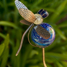 Dragonfly by Merna Nobile - Artistic Objects Glass ( art, glass, dragonfly )