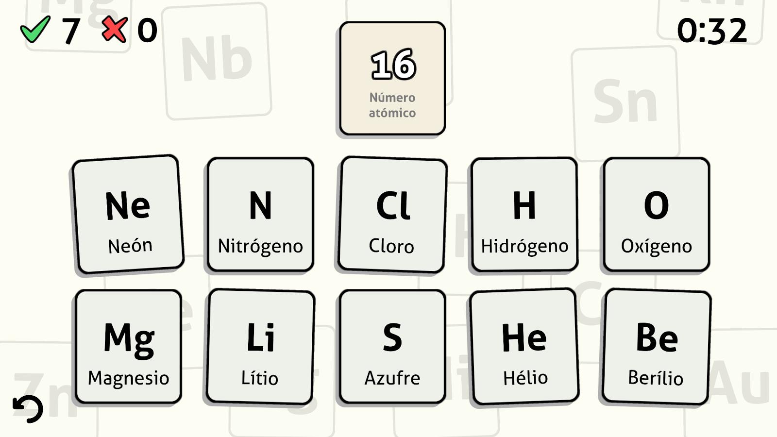 Tabla peridica quiz aplicaciones de android en google play tabla peridica quiz captura de pantalla urtaz Gallery