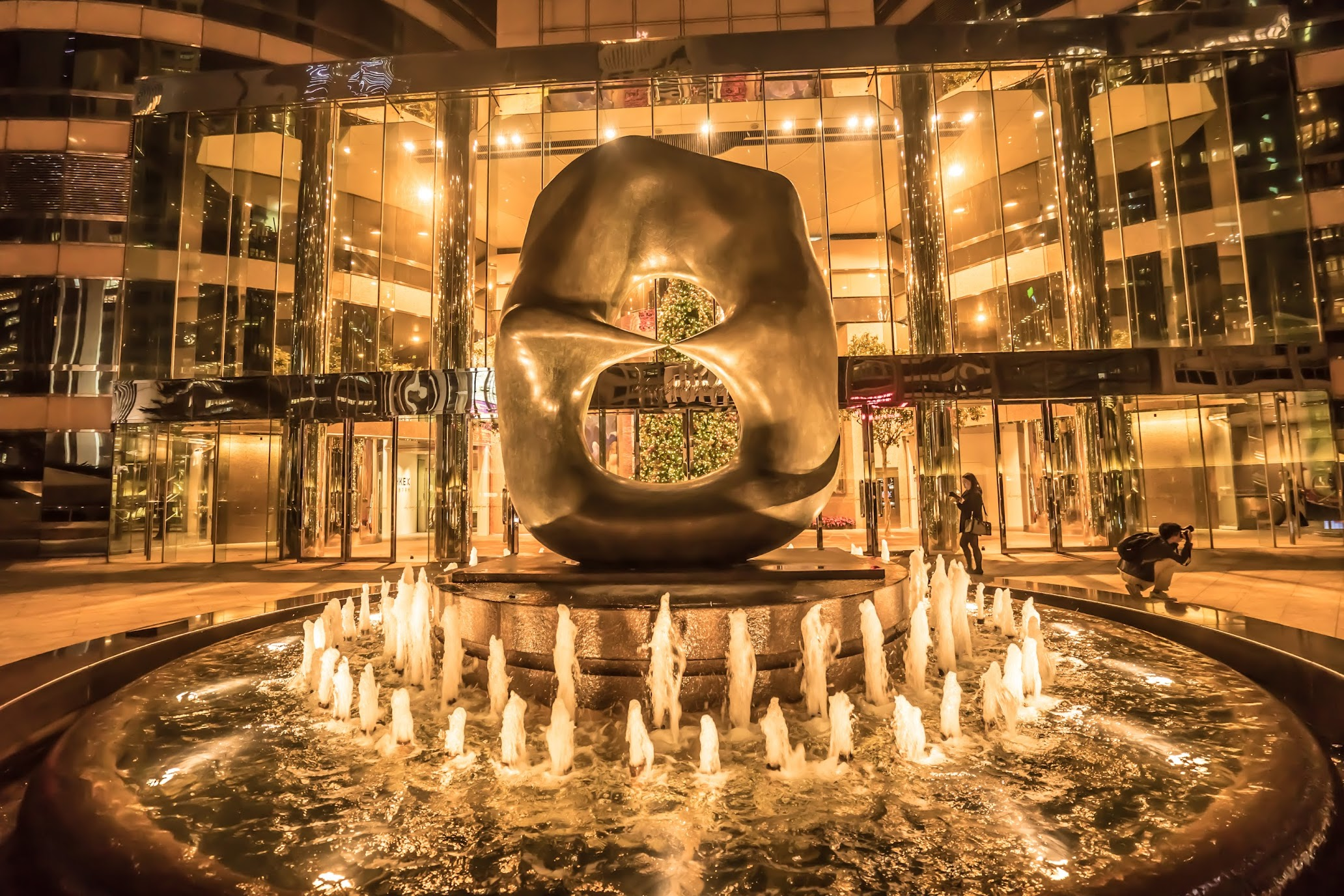 香港 IFCモール 夜景1