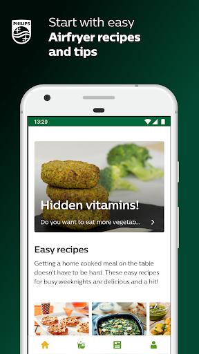 NutriU - Airfryer recipes & tips 6.5.1 screenshots 1