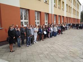 Photo: Początek roku szkolnego 2014/15 - klasy I