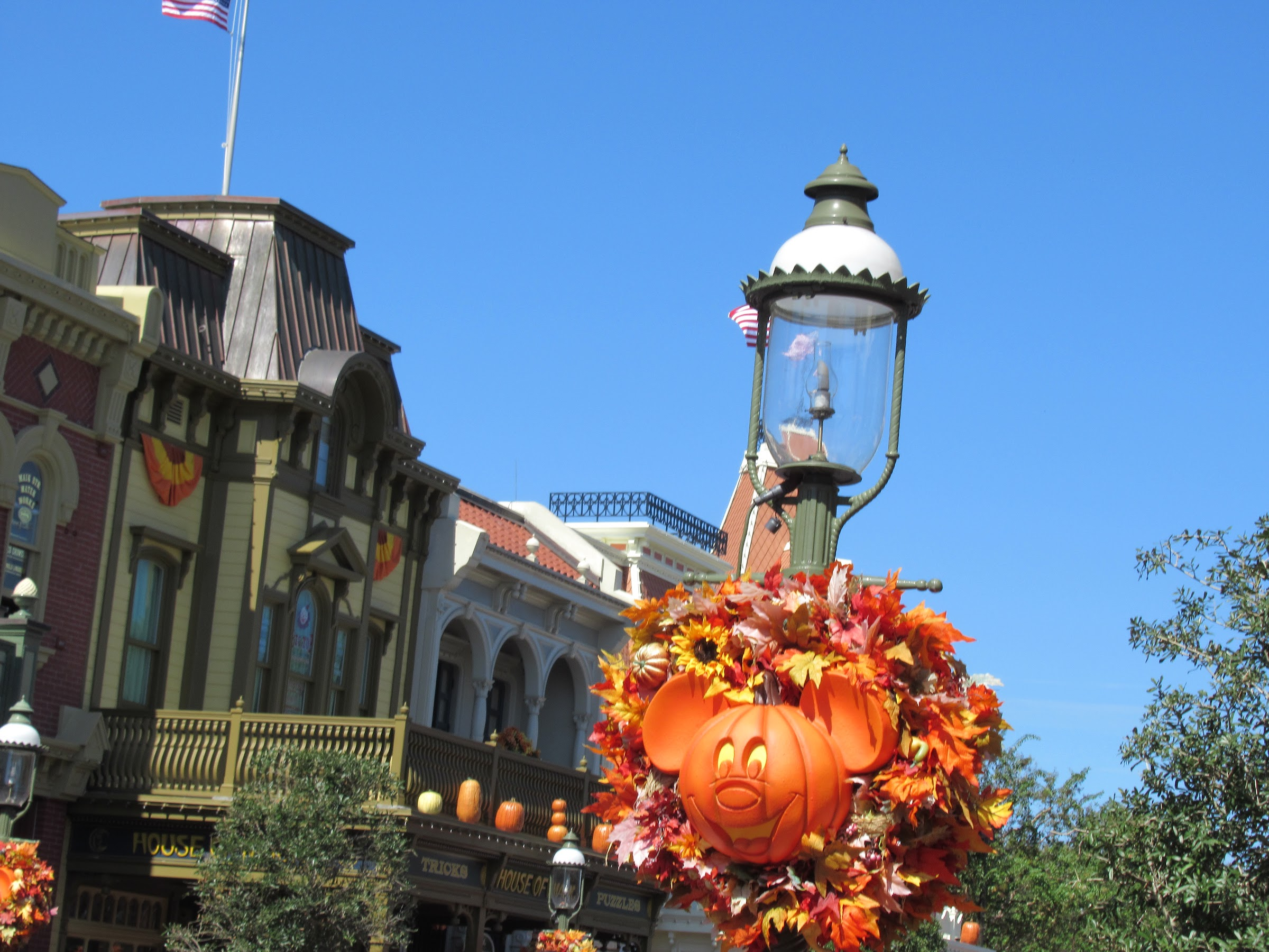 The Magic Kingdom at Walt Disney World in October