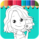 Sweet Girl Salon Coloring - Kids Education Download on Windows