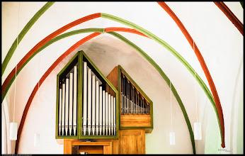 Photo: Die Dorfkirche in Lichtenhagen wurde im 14. Jahrhundert errichtet.