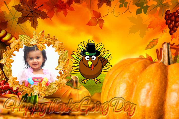android Thanksgiving Day Photo Frames Screenshot 3
