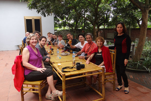 Lunch at Yen Duc Village